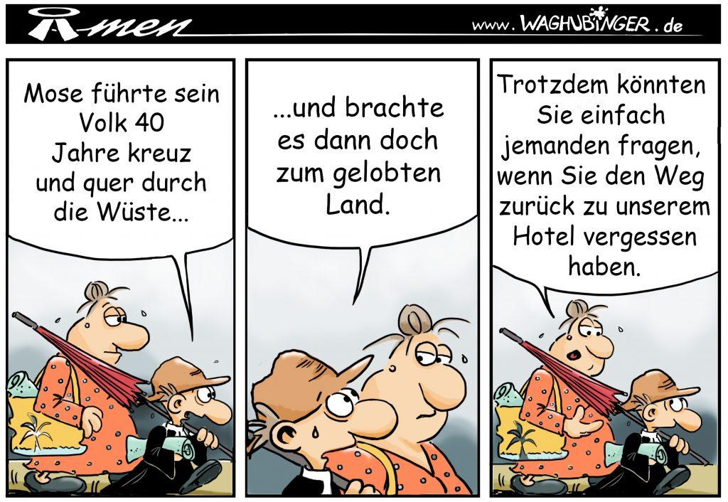 Der Pastor - evangelischer Comic - MITTENDRIN - Gemeindebrief für Ludwigsau